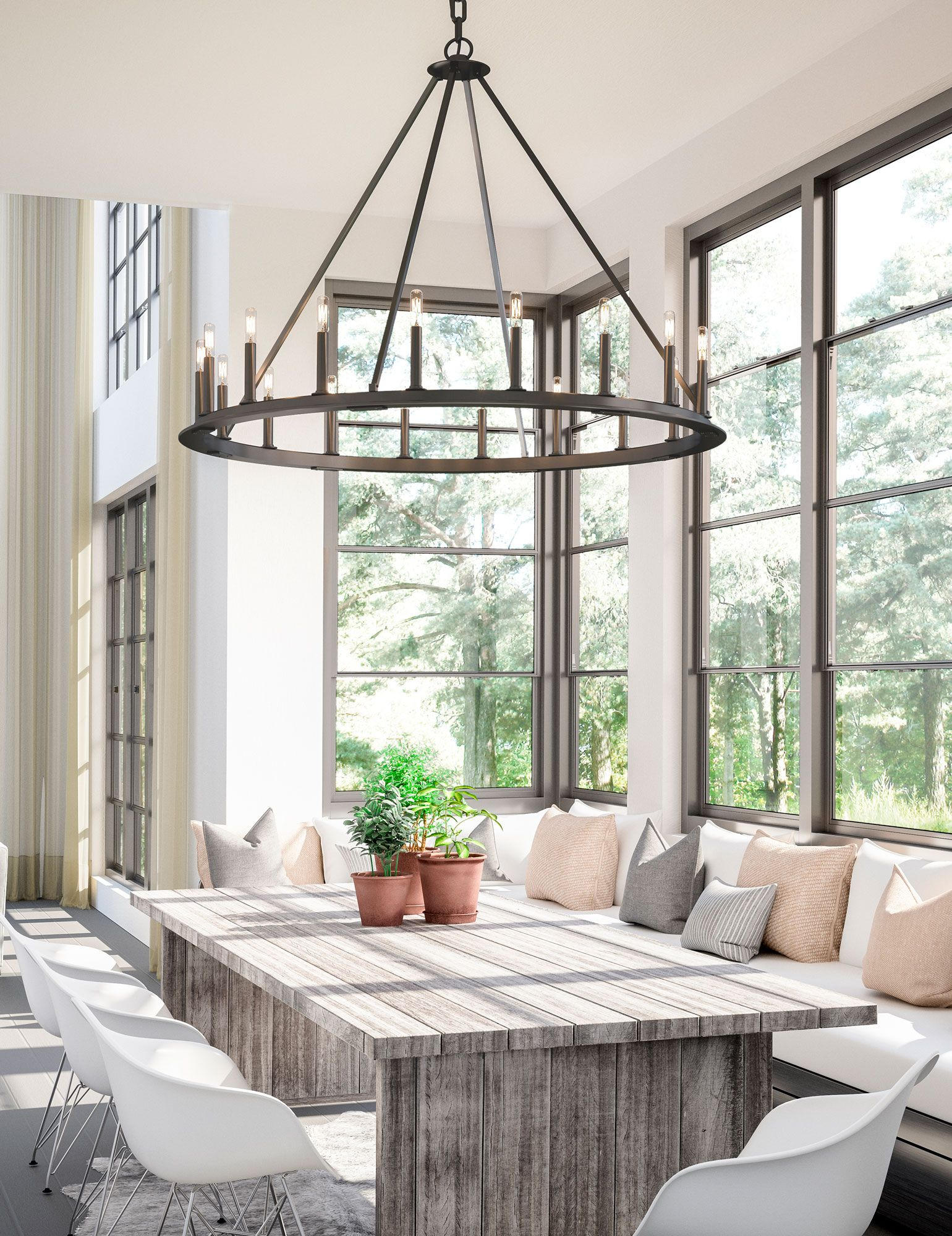 Astonishing Farmhouse Style Lighting Kitchens And Dining In 2019 Download Free Architecture Designs Scobabritishbridgeorg