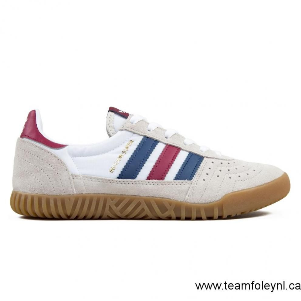 38e1f09798b8e Canada Men  s Adidas Originals Indoor Super (Clear Brown Noble  Indigo Mystery Ruby) Shoes Size 8 US 8 8 11