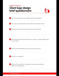 Logo Design Brief Questionnaire Logo Design Logo Design Love Graphic Design Business