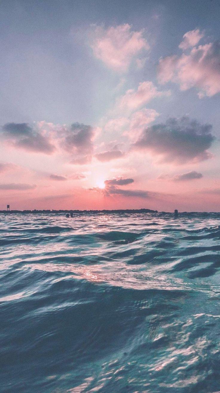 Ich liebe Rosa und Blau zusammen   Fotowand Ideen   Ocean ...