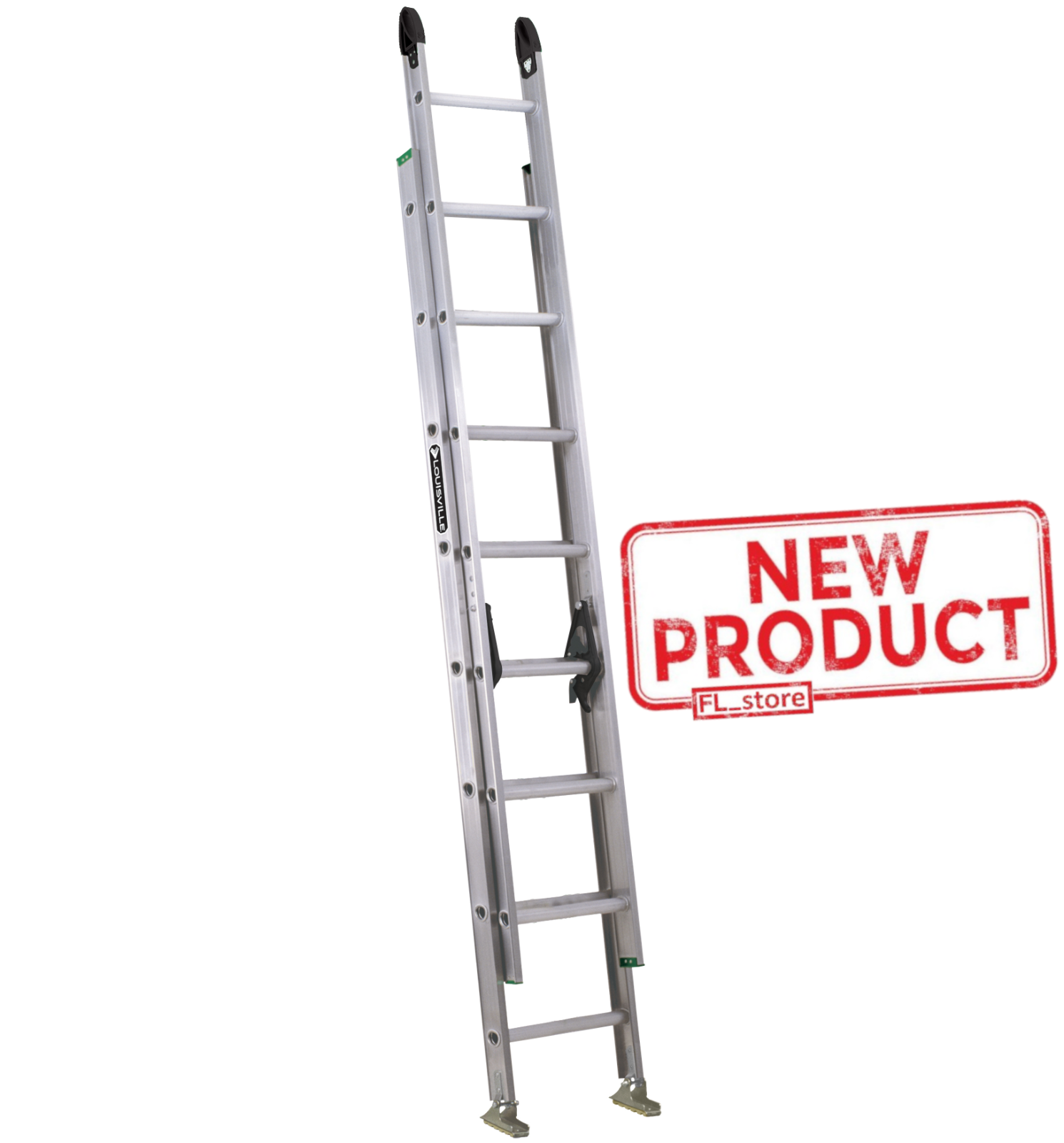 16 Feet Extension Ladder Aluminum Progrip Strong Lock Non Slip Quicklatch Silver Ladder Decor Ladderdecor In 2020 Aluminum Extension Ladder Step Ladders