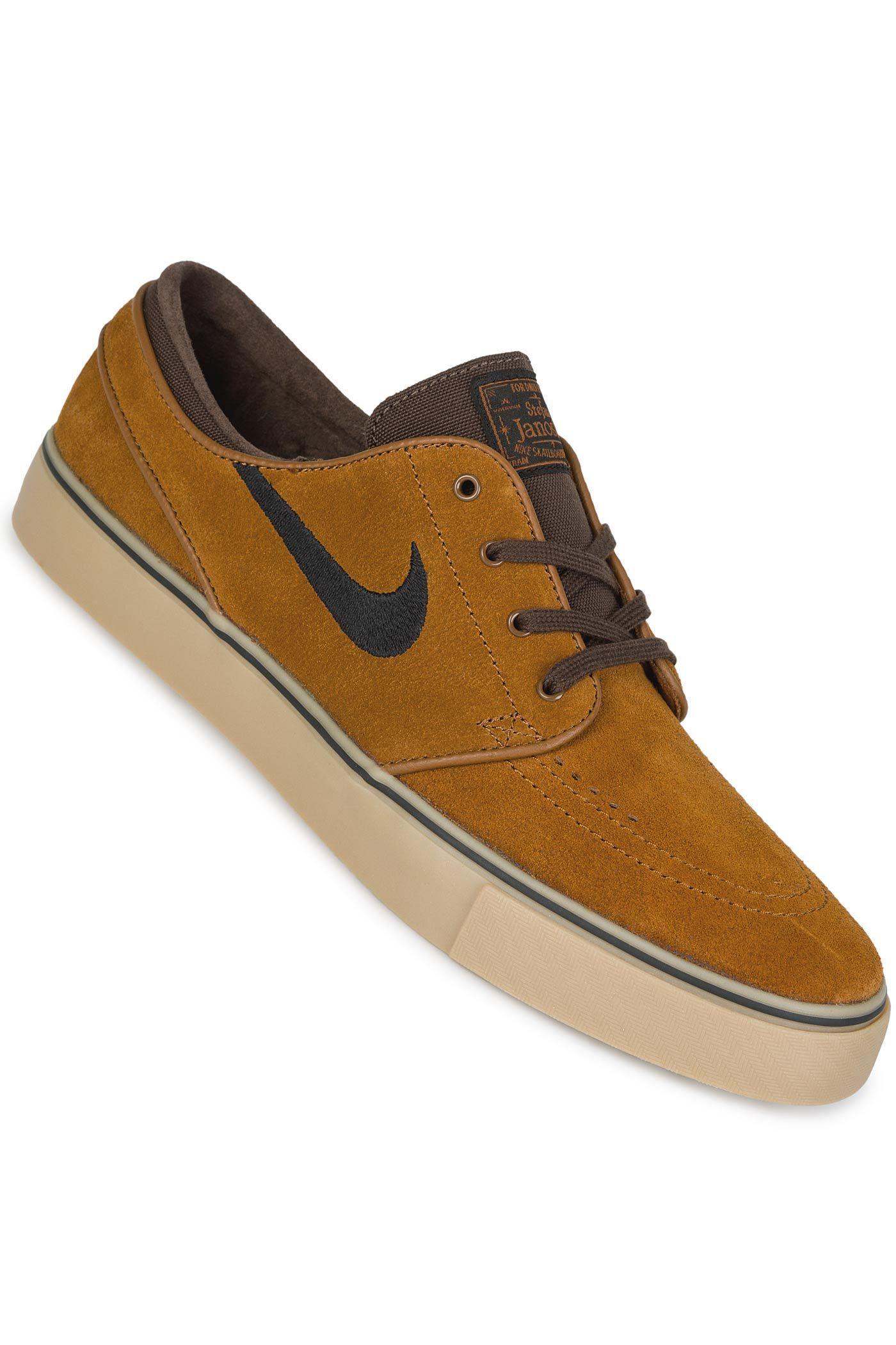 san francisco d2e07 c051c Nike SB Zoom Stefan Janoski Shoe (hazelnut black)
