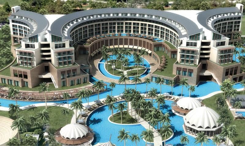 Kaya Palazzo Golf Resort Hotel Landscape Resort Architecture Hotel Project Architecture