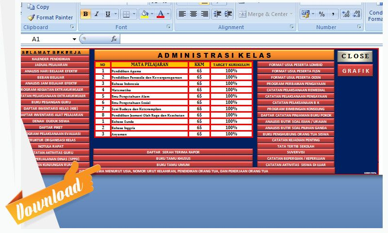 Pin Di Dokumen Dan Aplikasi Xlsx Pendidikan