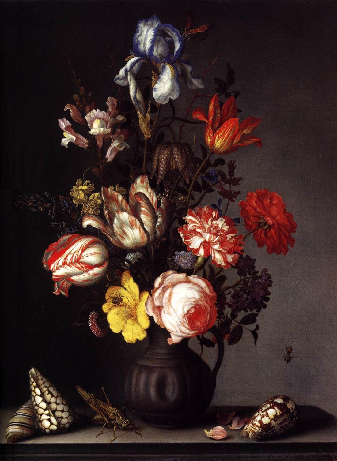 Ast Balthasar Van Der Dutch Baroque Era Painter Ca 1593