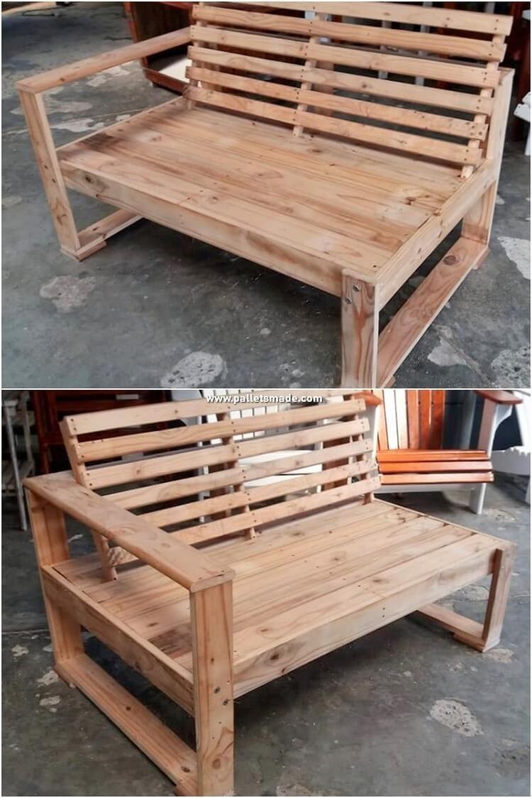 Splendid Wooden Shipping Pallet Diy Projects Pallet Furniture