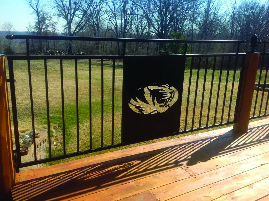 Deck Railing Tips & Instances for Your House | Metal Deck Railing
