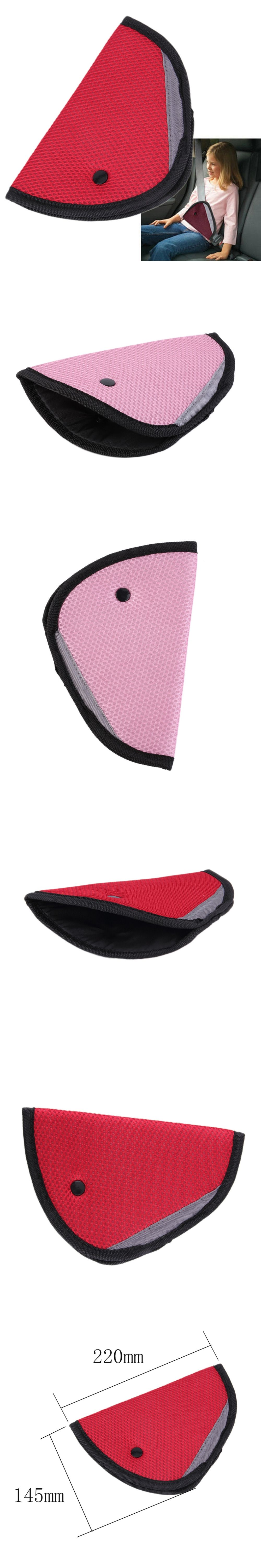 Triangle Child Car Safety Belt Holder Child Resistant seat cover ...