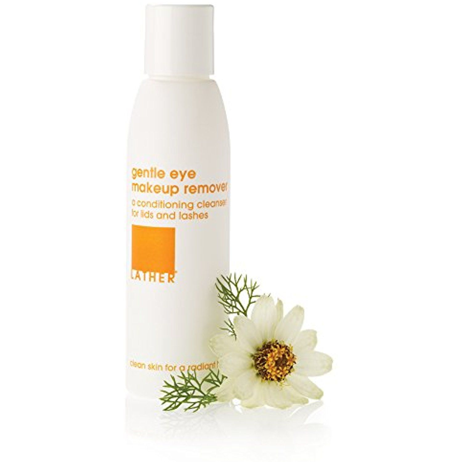 Lather Gentle Eye Makeup Remover 4 Oz Gentle Cleanser To Remove
