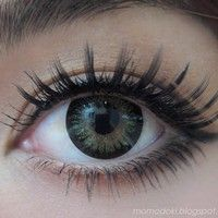 GEO PRINCESS MIMI APPLE GREEN Circle Lens Fashion Colored Contacts Enlarging Korean Contact Lenses | EyeCandy's