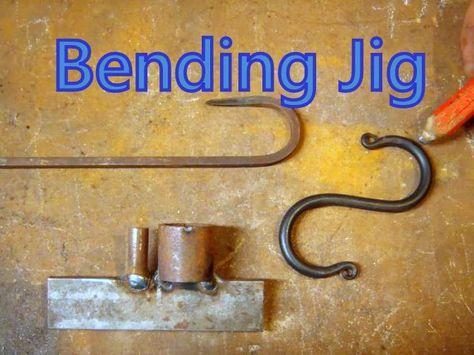 Best Basic Blacksmith Bending Jig S Hook Jig For Beginners 400 x 300
