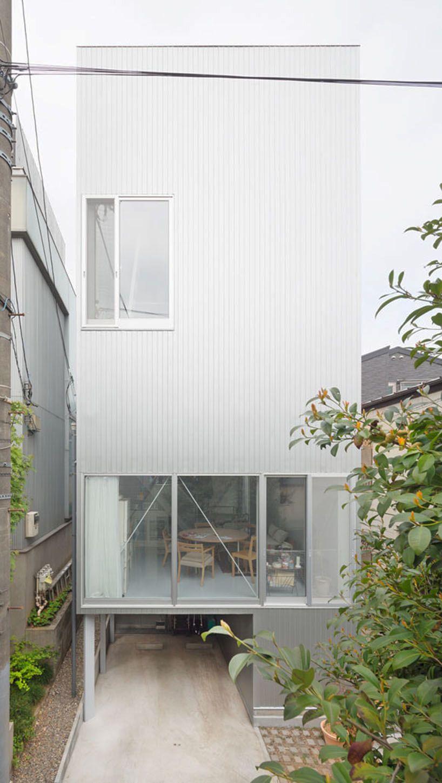 Kazuyo sejima tsuchihashi house arch uni architektur for Universitat architektur