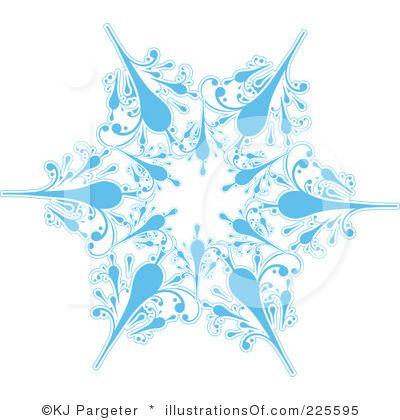 Copyright Free Clip Art Snowflake
