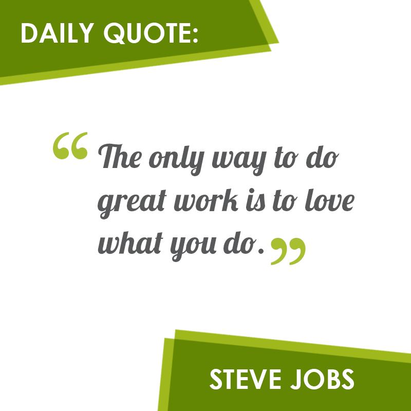 #SteveJobs #quotes #design #green
