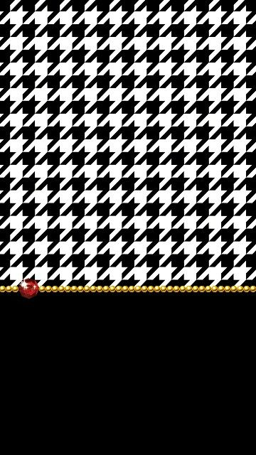 Houndstooth Wallpaper Even My Phone Wants To Look Cute In