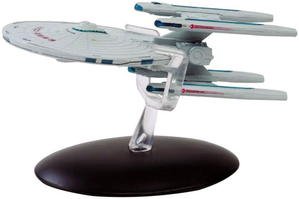 Eaglemoss Diecast Star Trek USS Excelsior NCC-2000 #8 with Magazine