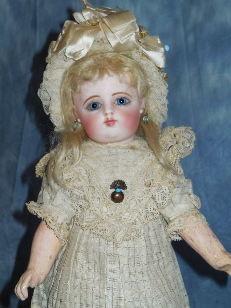 "11"" Antique Early FG Bebe in Block Letter Mark from joycedolls on Ruby Lane"