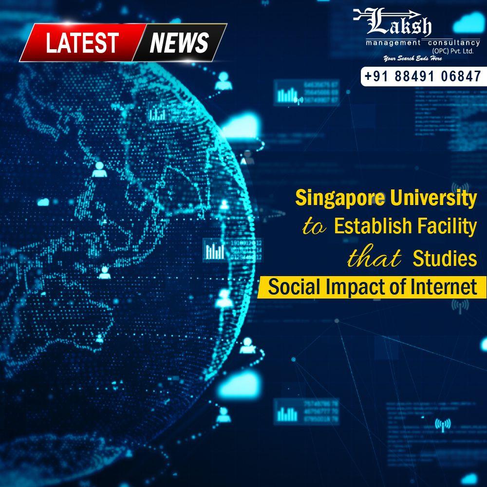LatestNews 🇸🇬Singapore University to Establish Facility