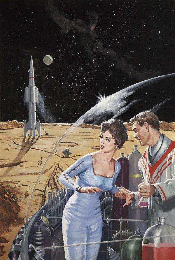 Vintage Sci-Fi Pulp Art