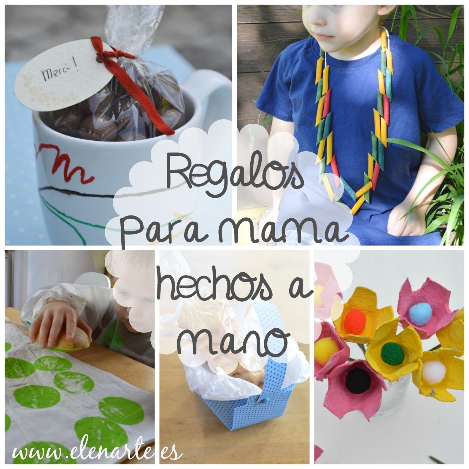 Regalos Para Mamá Hechos A Mano Manualidades Para Niños Regalos