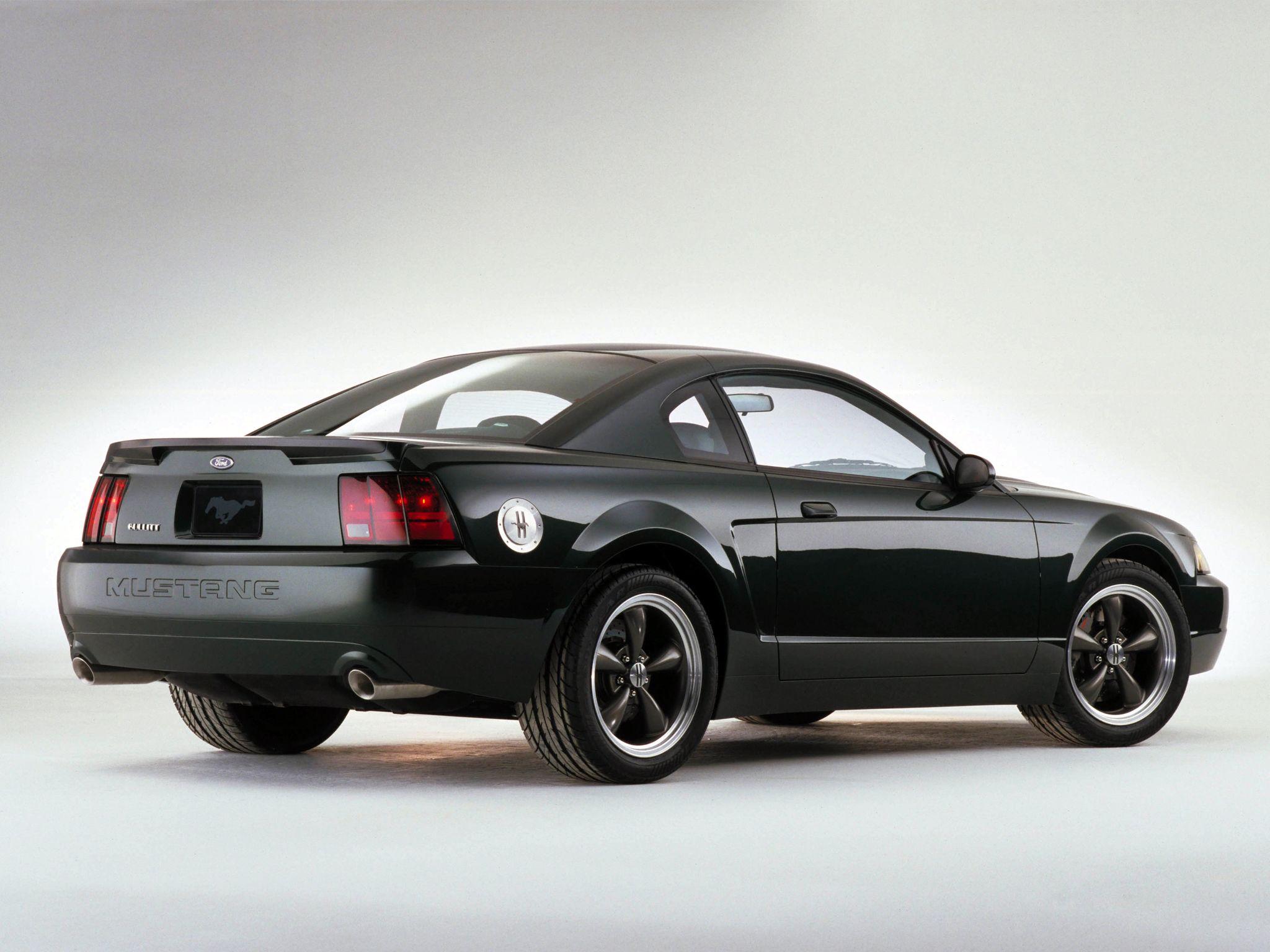 2000 Bullitt Gt Concept Mustang Bullitt Ford Mustang Bullitt Mustang