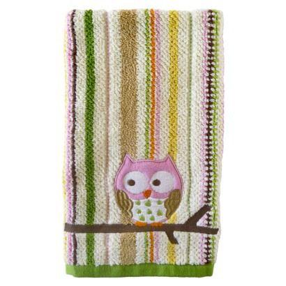 Circo 174 Owl Hand Towel In 2019 Hand Towels Kids Bath Owl