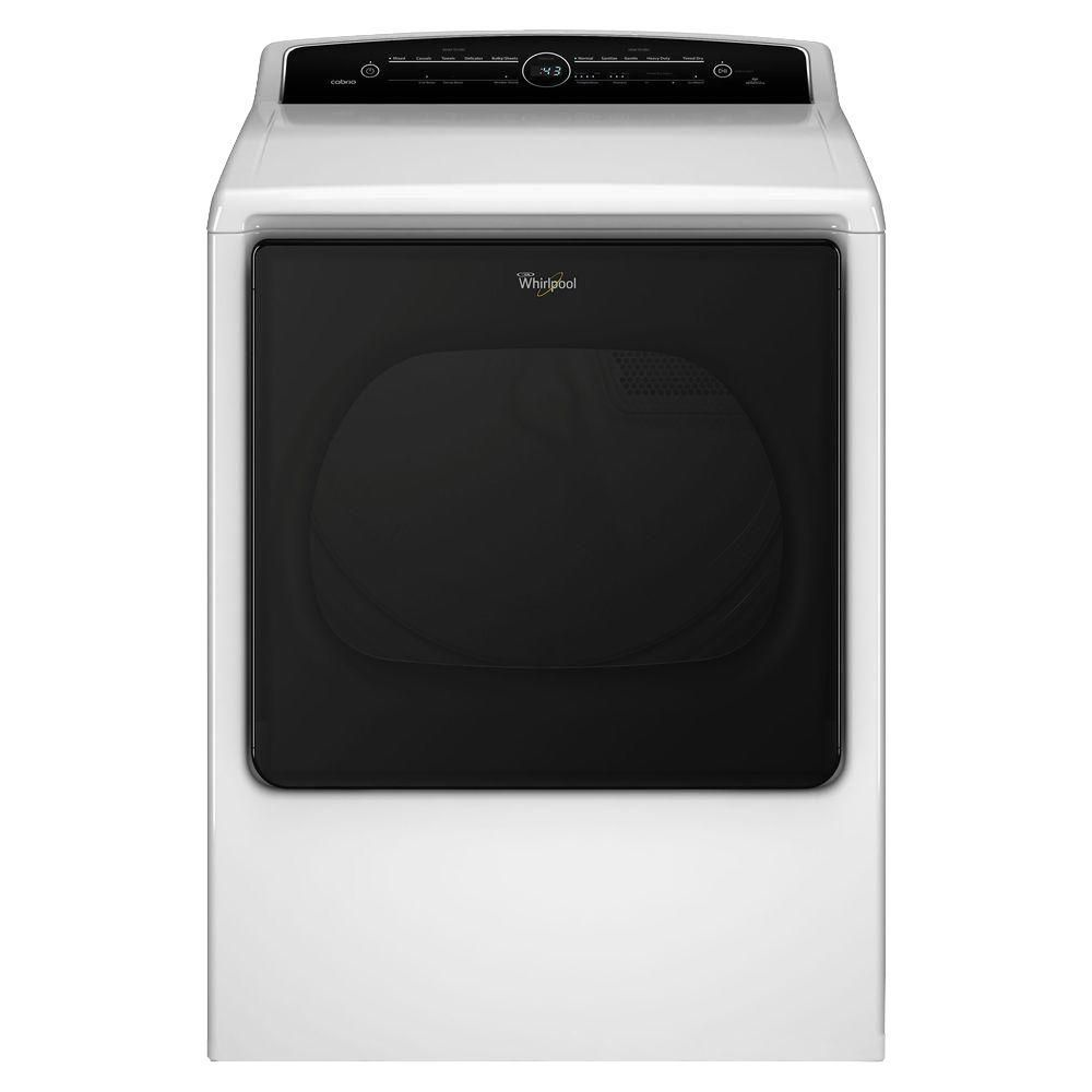 Whirlpool 8 8 Cu Ft 120 Volt High Efficiency White Gas Vented Dryer With Advanced Moisture Sensing And Intuitive Touch Controls Gas Dryer Energy Star Dryer