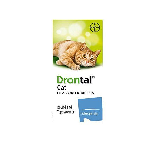 Drontal Cat 4tablets Year Supply Pet Meds Cheap Pets Pet Owners