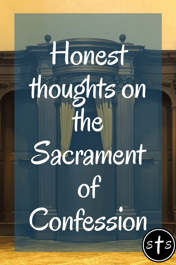 Don T Talk To Me About Sin Stumbling Toward Sainthood Catholic Faith Sacrament Confessions
