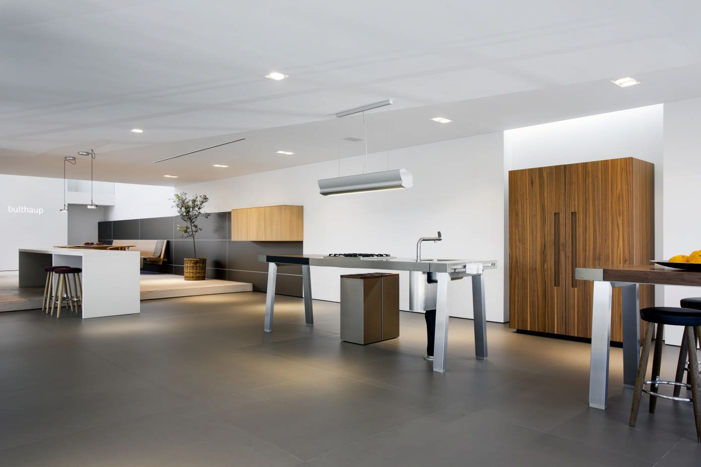 bulthaup b2 kitchen workshop at the new showroom in Johannesburg ...