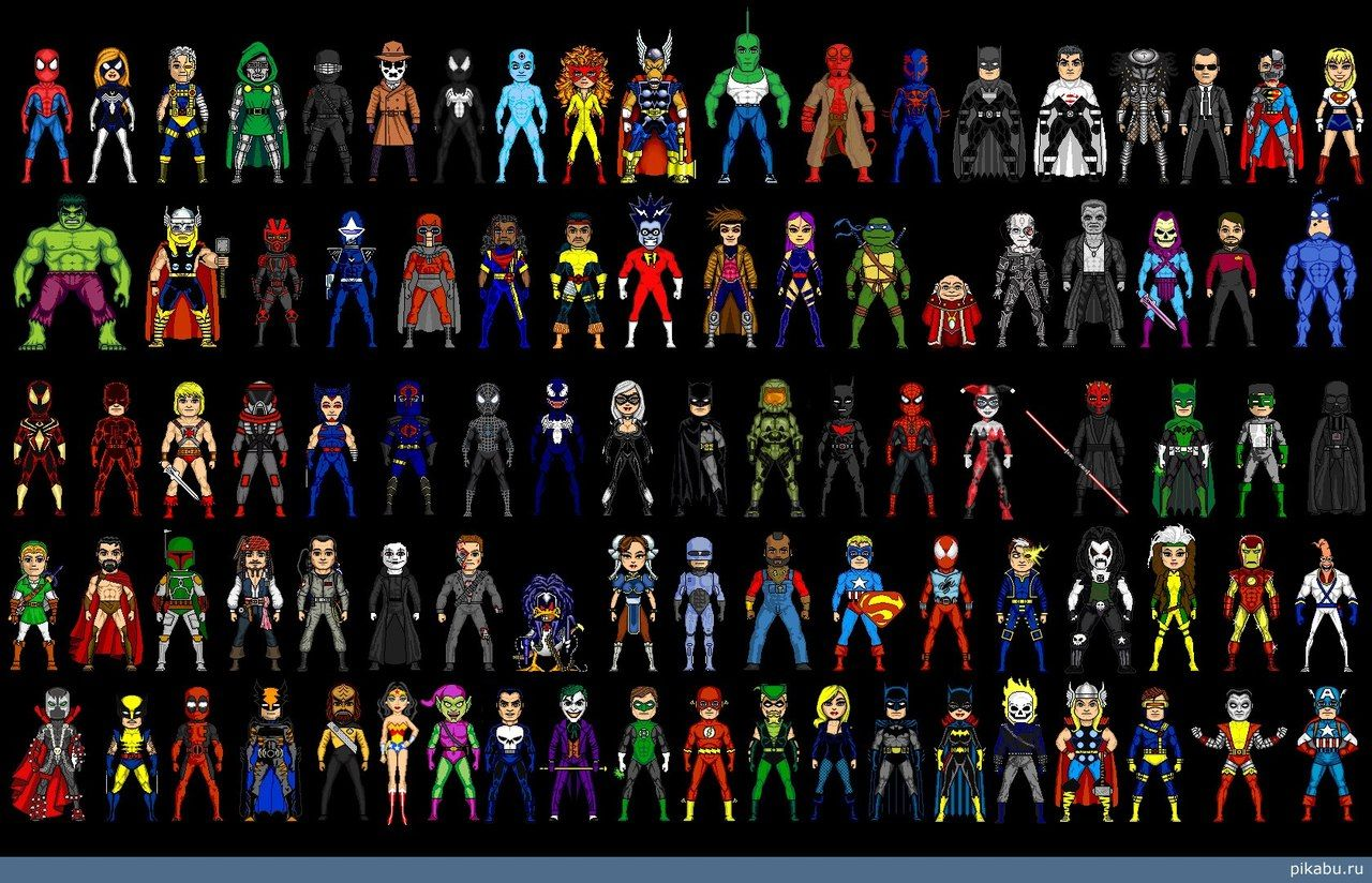 фото разных знаков супергероя