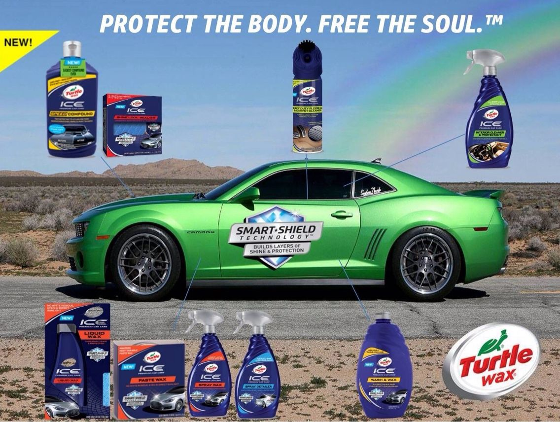 Turtle Wax ICE with Smart Shield Technology Turtle
