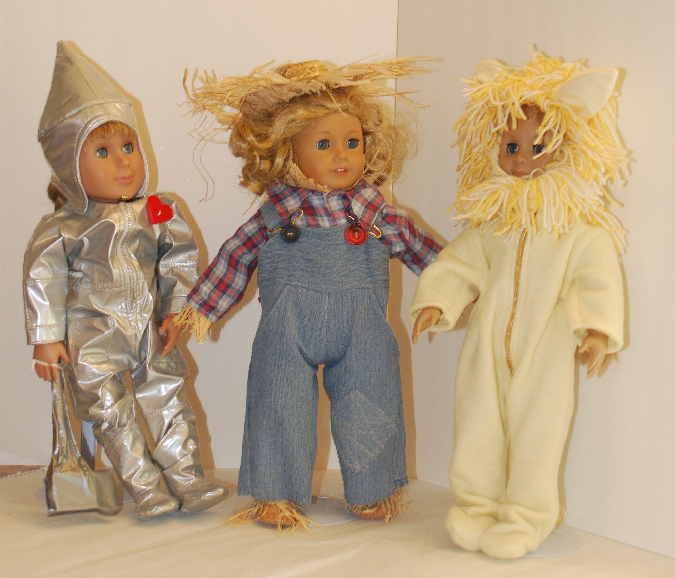 Wizard of Oz Tin Woodsman, Scarecrow, Cowardly Lion