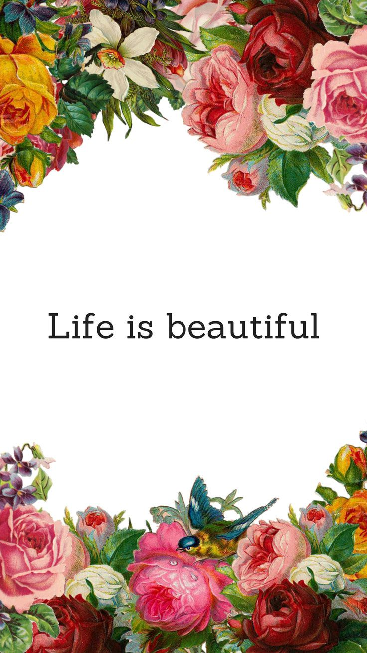 Life Is Beautiful Quotes 10 Happy Iphone 7 Wallpapers To Celebrate Life  Taps Wallpaper