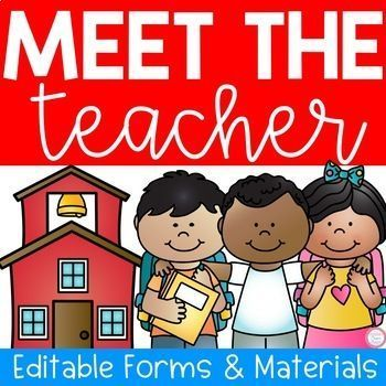 Meet The Teacher Night (Editable Forms  Materials) Welcome signs - student sign in sheet