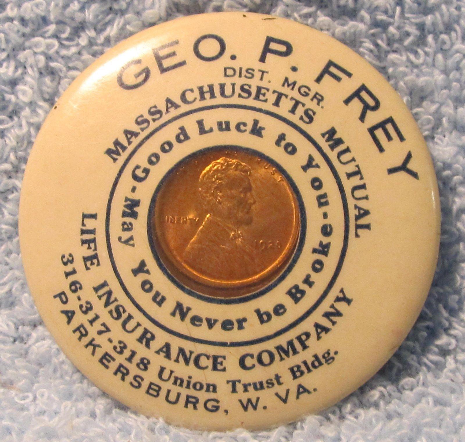 Parkersburg Wv Geo P Frey Dist Mgr Massachusetts Mutual Life Insurance Company 316 317 Parkersburg Life Insurance Companies Mutual Life Insurance