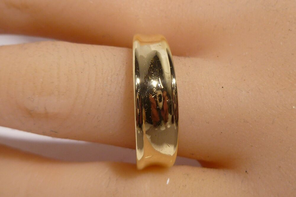 W B L Men S 18k Gold Wedding Ring Band By Sedona Jewelry Designer