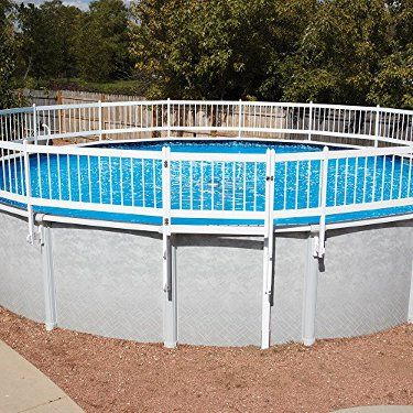 Above Ground Pool Fence Ideas Agpoolreviews Com Above Ground Pool Fence Backyard Pool Backyard Pool Landscaping
