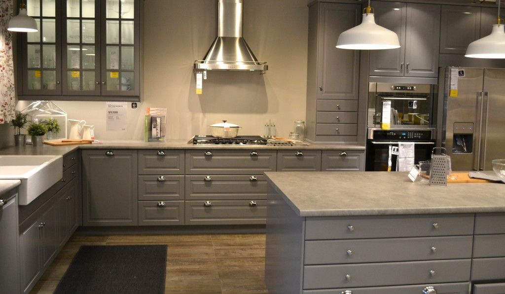 Best Ikea Bodbyn Grey Kitchen Renovation Inspiration Kitchen 400 x 300