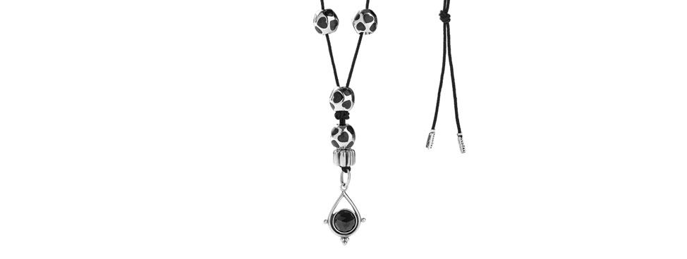 pandora leather necklace how to tie