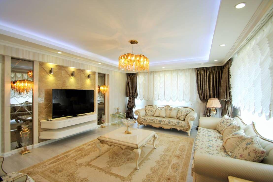 T rkiye 39 den b y leyici avangart salonlar living room for Mobilya wedding