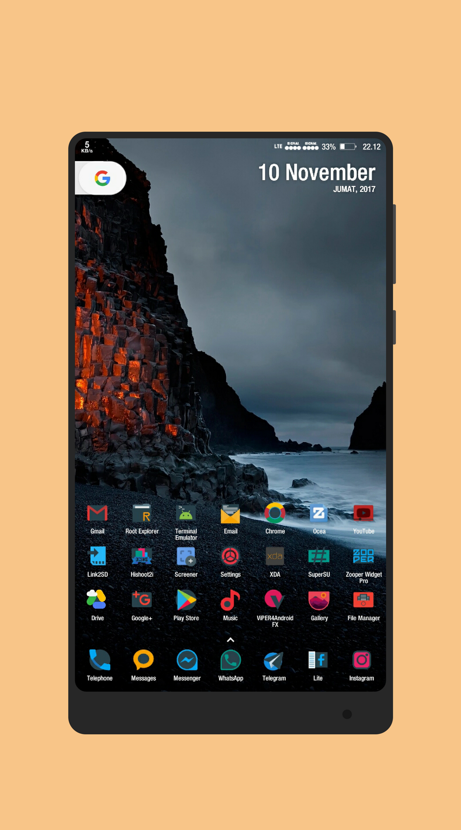 Wall Karthik Arumugam Nova Launcher Prime 画面デザイン
