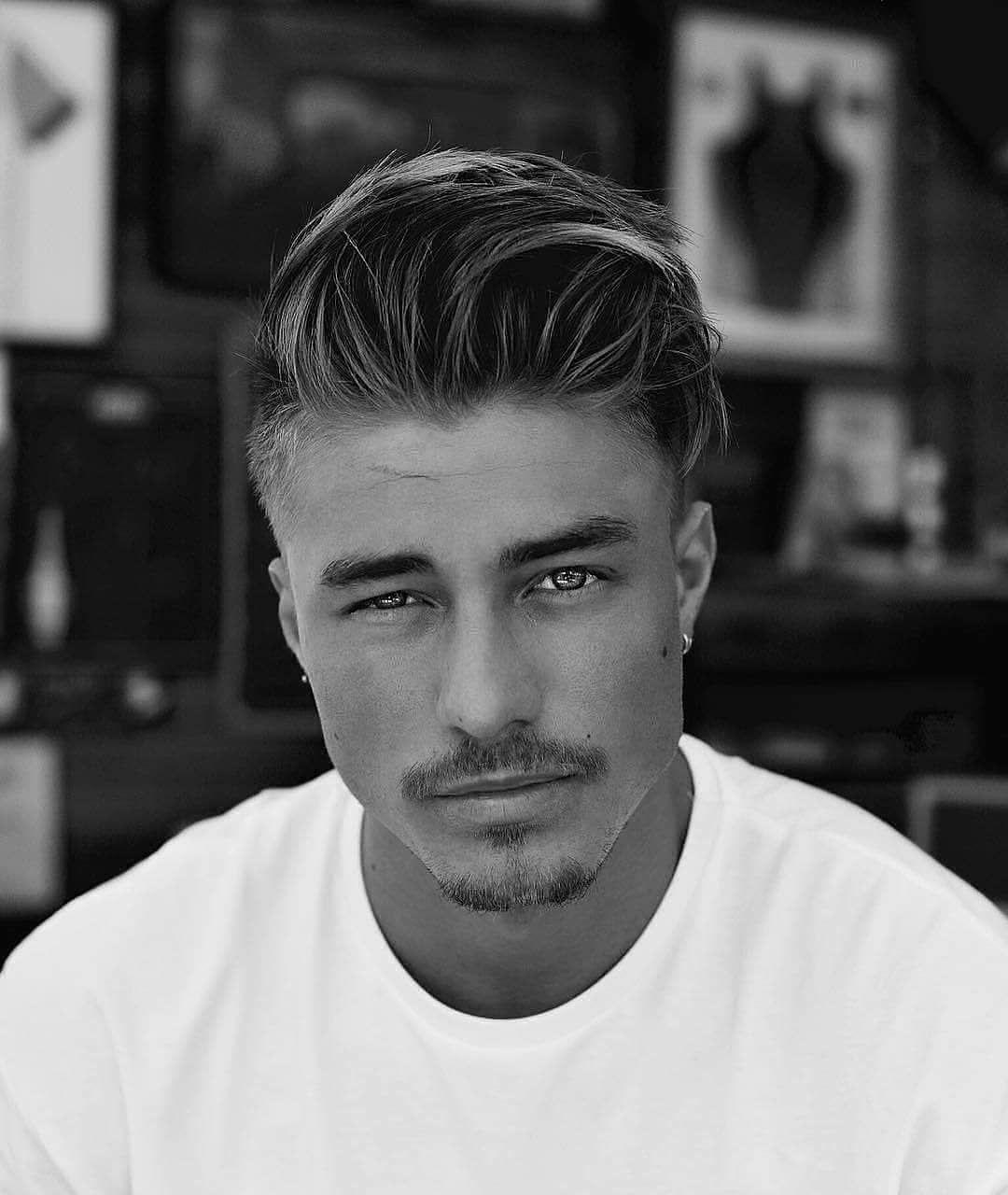 """Photo of Herrenfrisur auf Instagram: """"👇👇 1, 2, 3, 4, 5, 6 oder 7? Welche Frisur ist die beste? Kommentar unten 👇👇 Kredit: @johnnyedlind 😎✂ 😎✂ Folgen Sie uns @hairstylesgents 👈… """""""