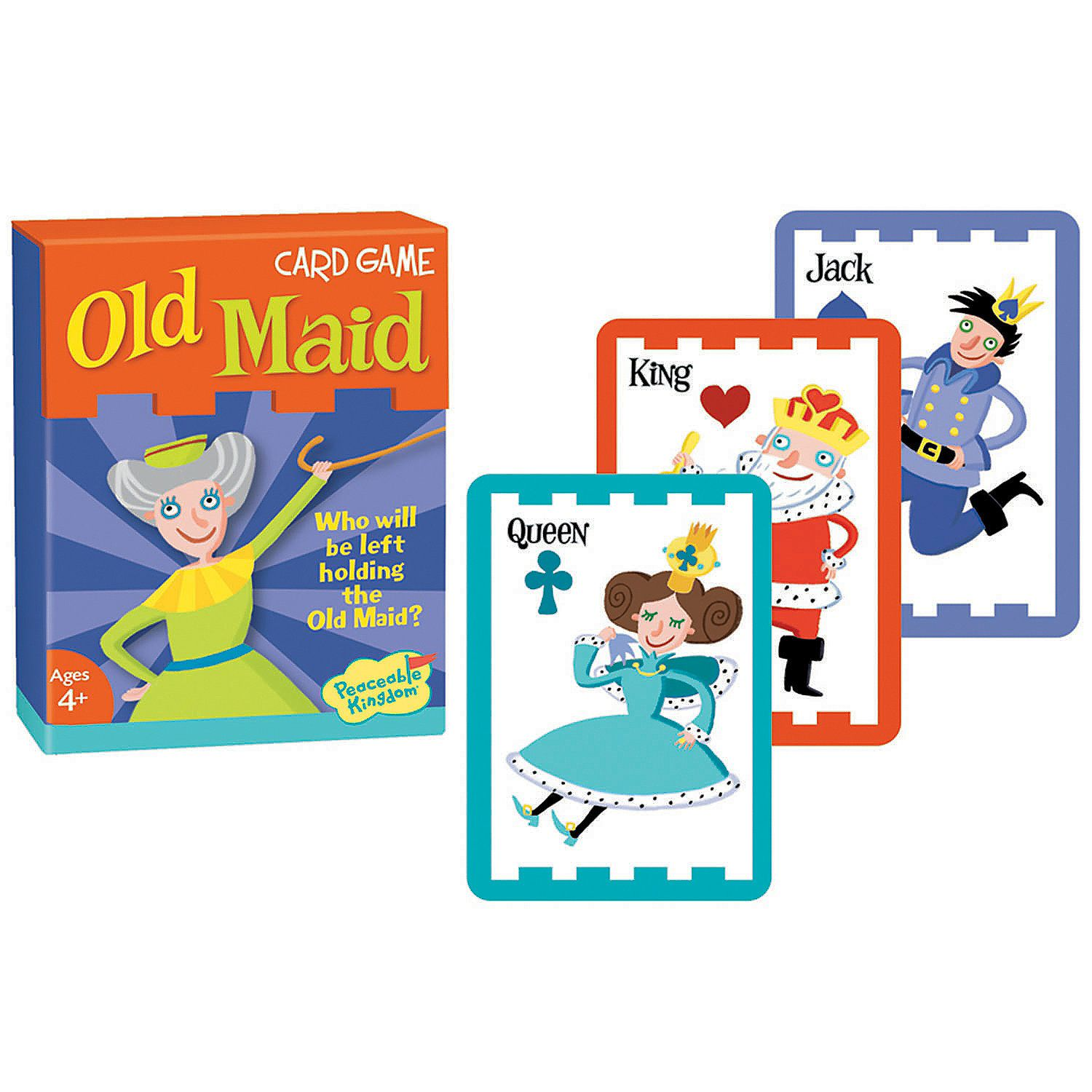 Old Maid Card Game Mindware In 2021 Classic Card Games Card Games For Kids Card Games
