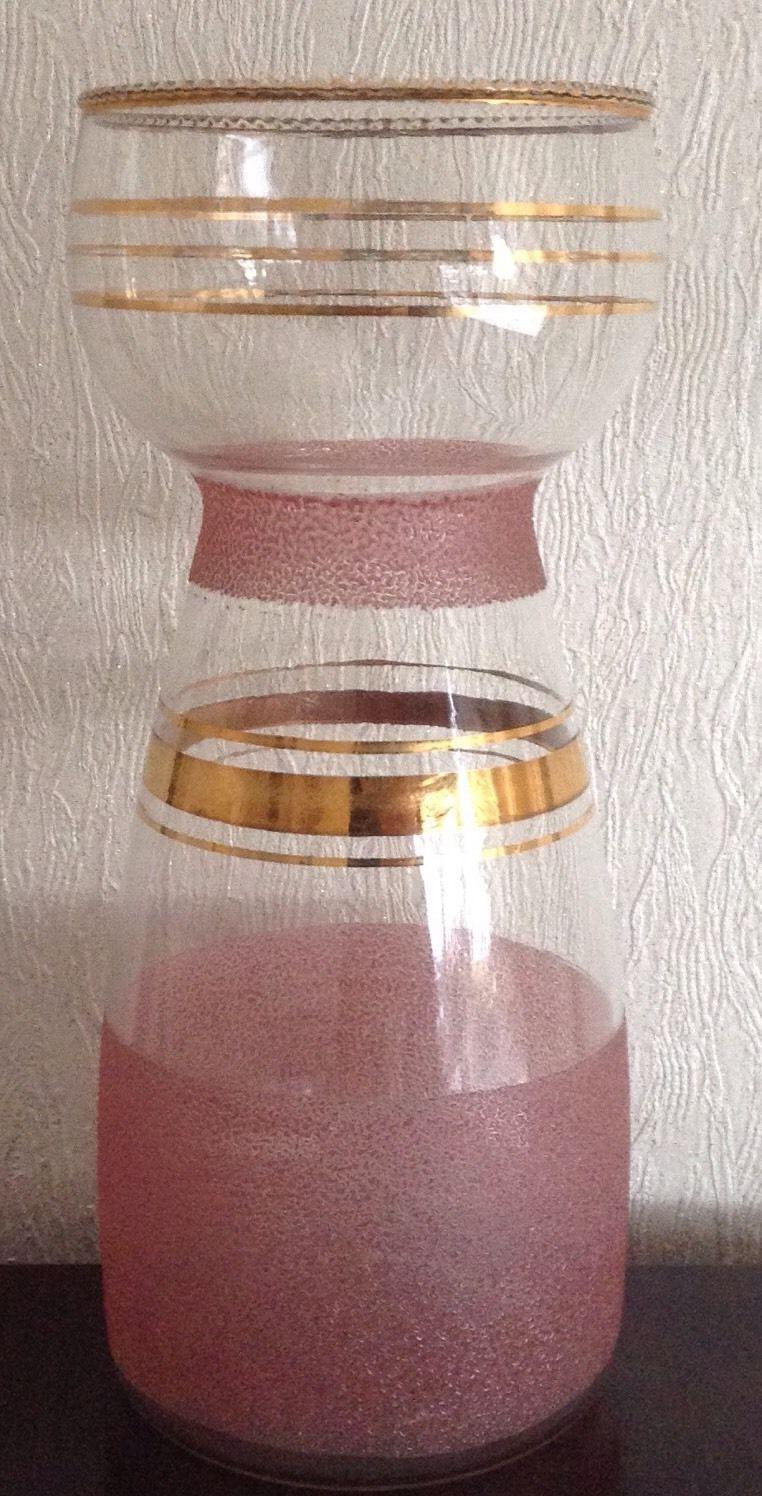 Vintage banded glass frosted hyacinth bulb vase hyacinth bulb vintage banded glass frosted hyacinth bulb vase reviewsmspy