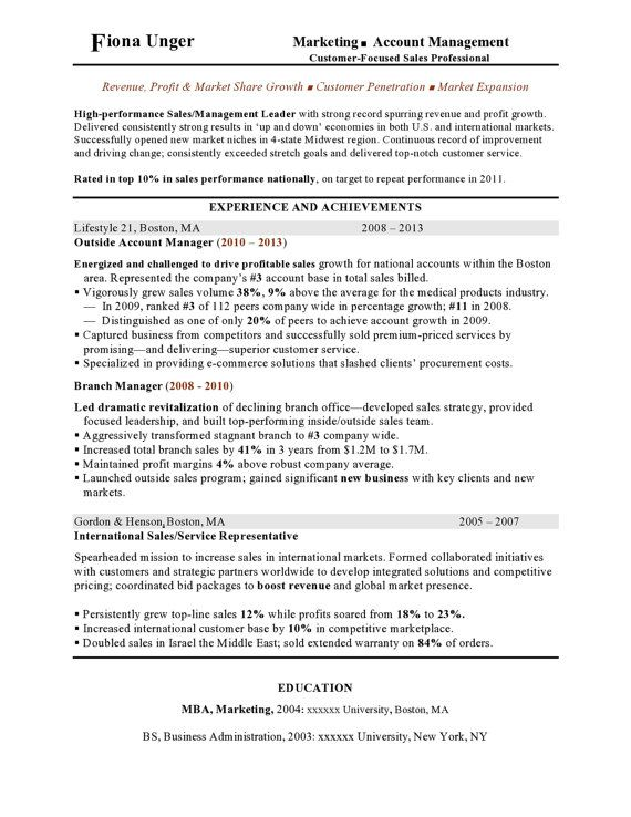 Marketing Resume Template/Customizable/Instant Download/Design/Word - resume goals