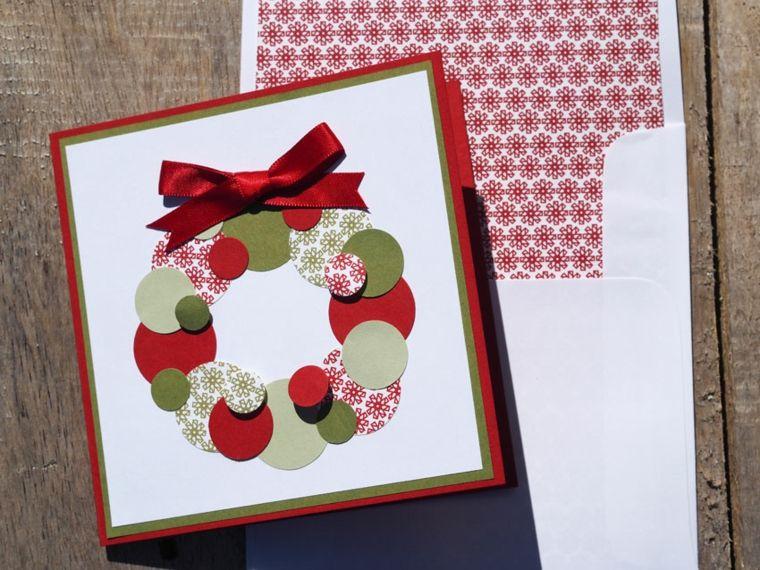 Tarjetas De Navidad Manualidades Para Casa Arbol Pinterest - Manualidades-de-tarjetas-de-navidad