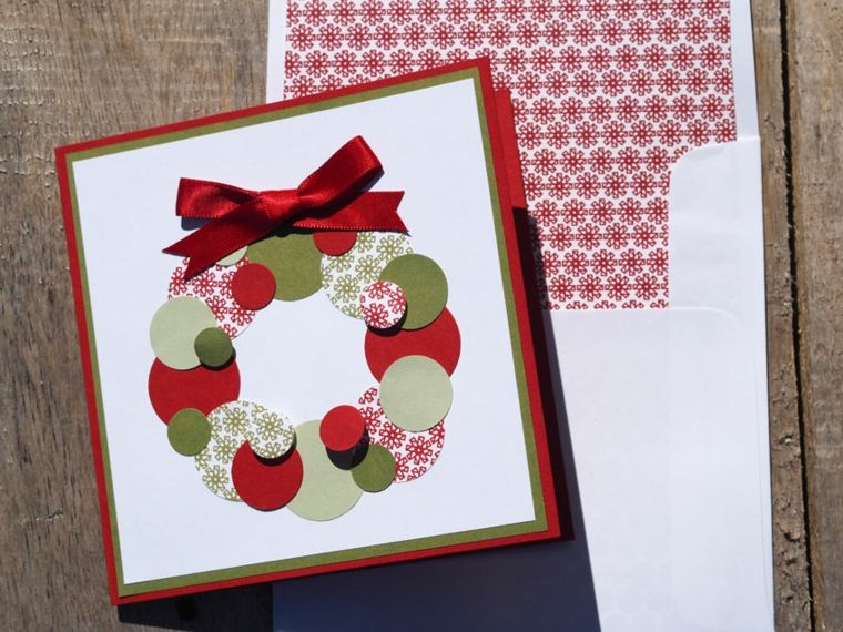 Tarjetas De Navidad Manualidades Para Casa Arbol Pinterest - Tarjeta-de-navidad-original