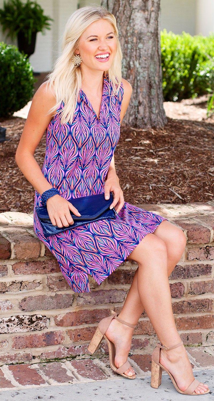 3f00e5d87a Escapada Living - Sleeveless Stretch Knit Monroe Dress