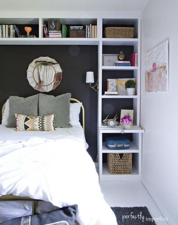 C mo organizar habitaciones peque as decoraci n for Habitaciones pequenas decoracion